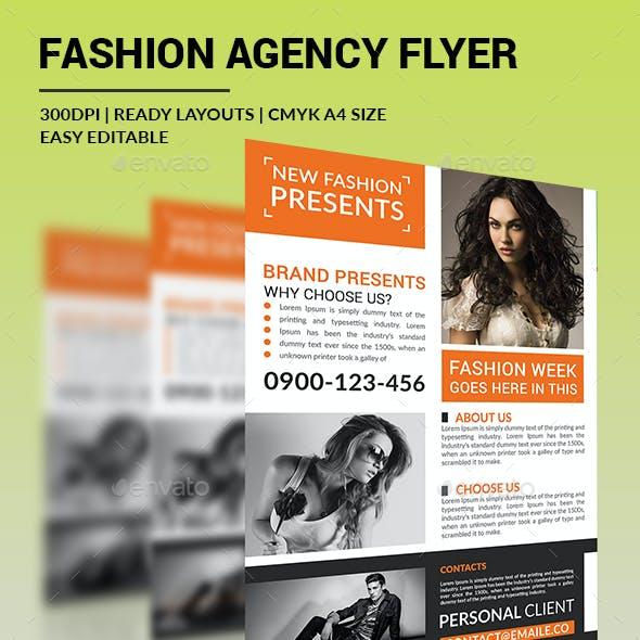 Fashion Agency Flyer