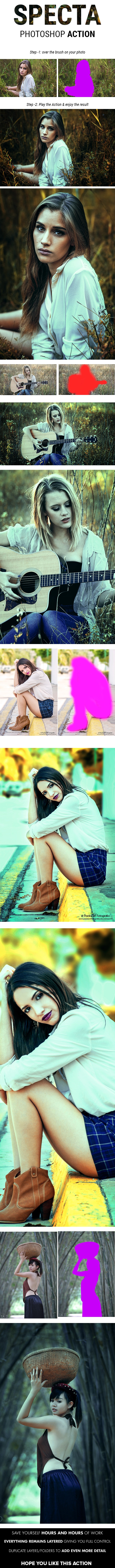 Specta - Evening Color Effect Photoshop Action - Photo Effects Actions