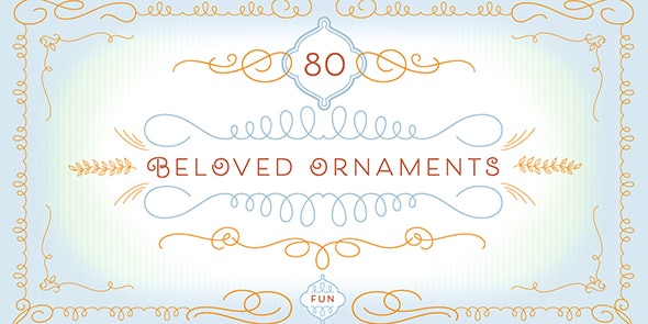 Beloved Ornaments - Ding-bats Fonts