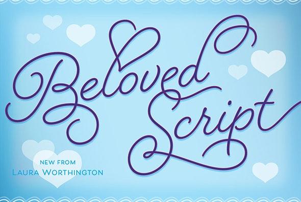 Beloved Script Regular - Script Fonts