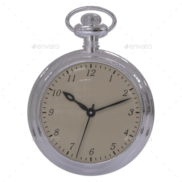 Antique Pocket Watch. - Objects 3D Renders
