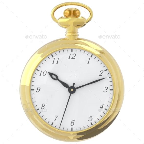 Antique Pocket Watch. - Objects 3D Renders