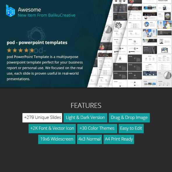 pod - PowerPoint Templates System
