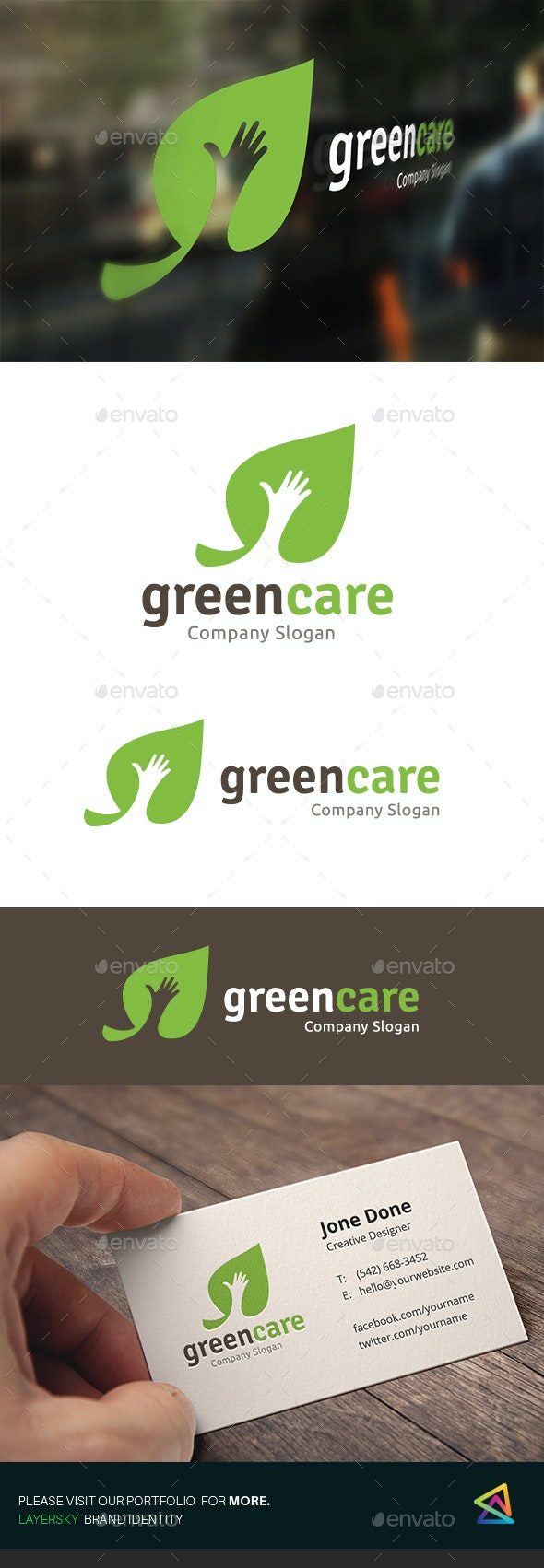 Green Care  - Nature Logo Templates