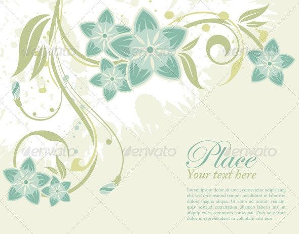 Floral frame - Borders Decorative