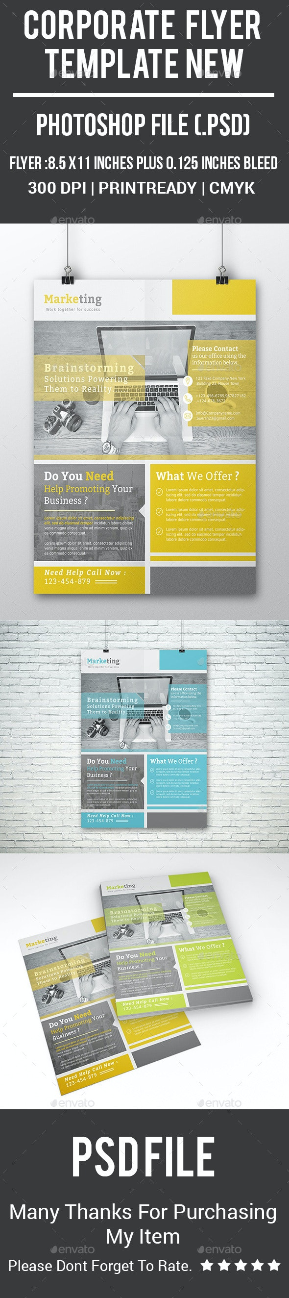 Corporate Flyer Template New - Corporate Flyers