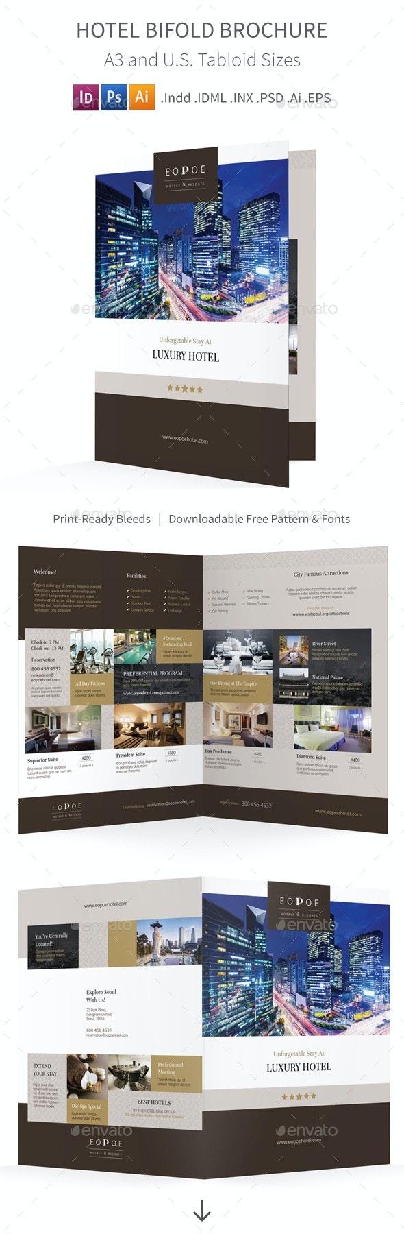 Hotel Bifold / Halffold Brochure 5 - Corporate Brochures