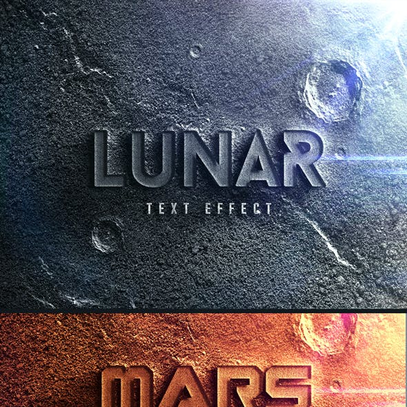 Moonscape | Cinematic Text Effects V.1