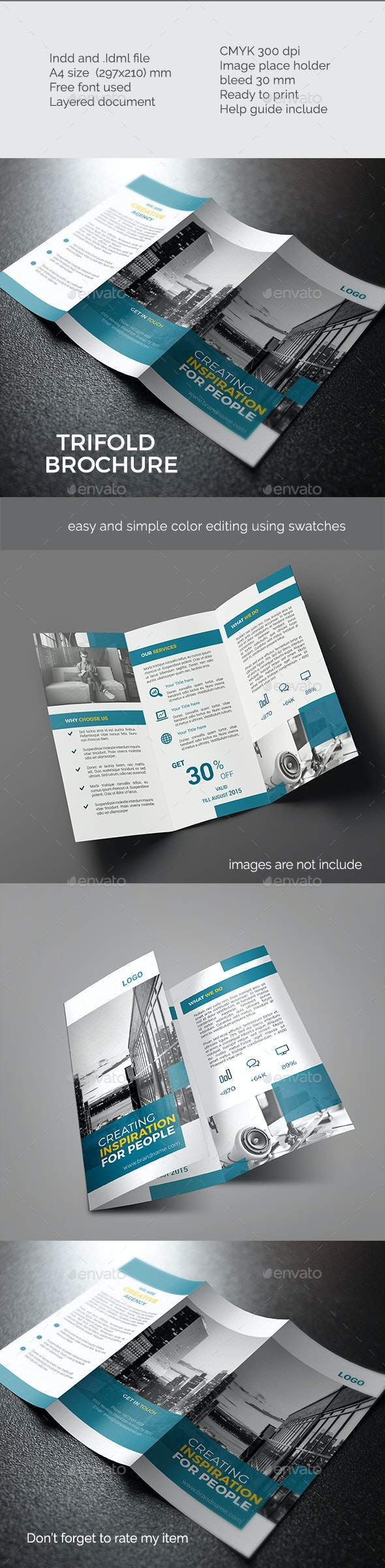 Trifold Brochure Vol 2 - Corporate Brochures