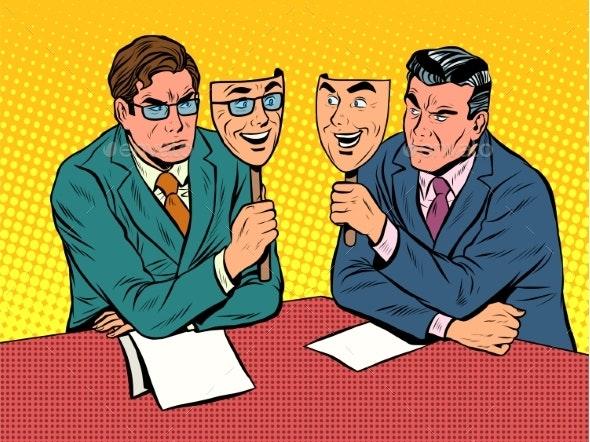 Business Dialogue is Disingenuous Communication - Concepts Business