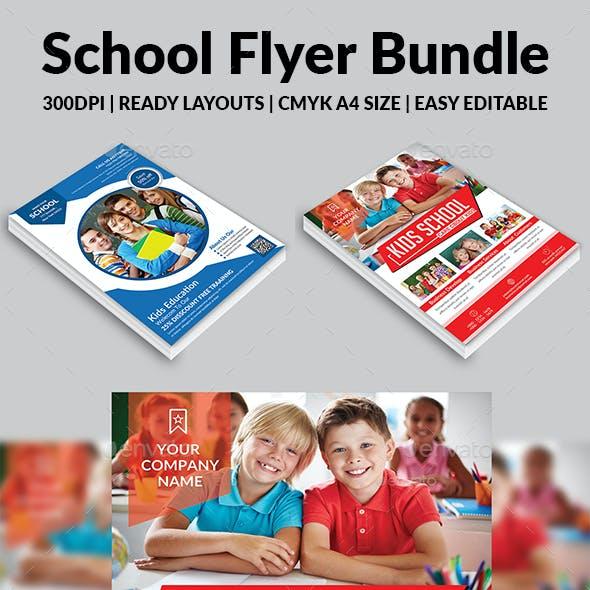 School Flyer Bundle