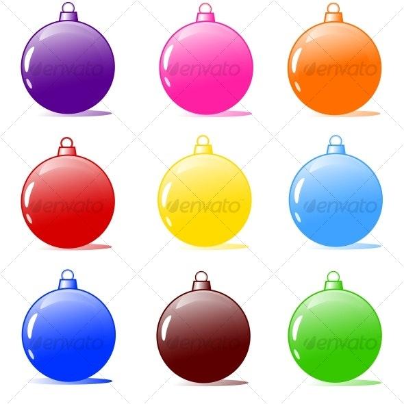 Christmas tree bulbs - Christmas Seasons/Holidays