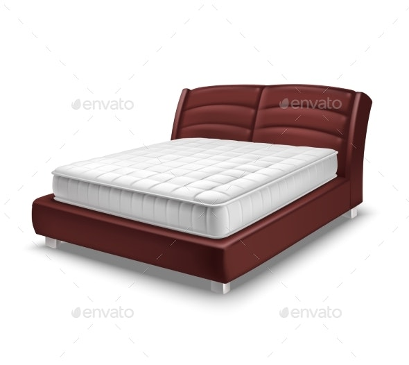 Mattress Bed Realistic - Man-made Objects Objects