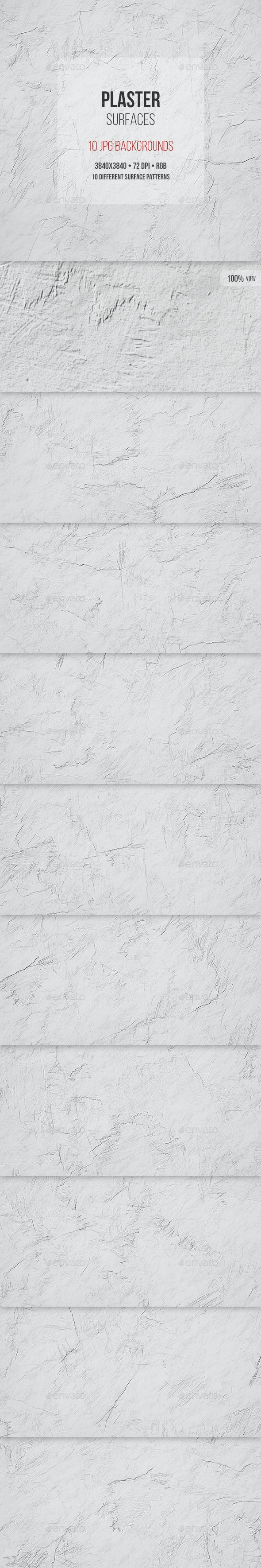 Plaster Surfaces - Urban Backgrounds