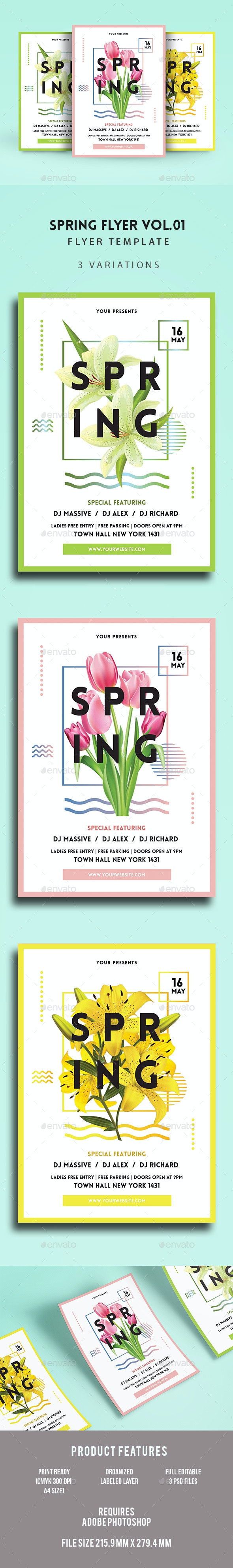 Spring Flyer  - Events Flyers