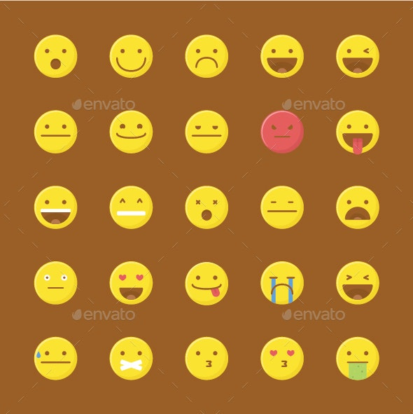 Emoticons - Characters Icons