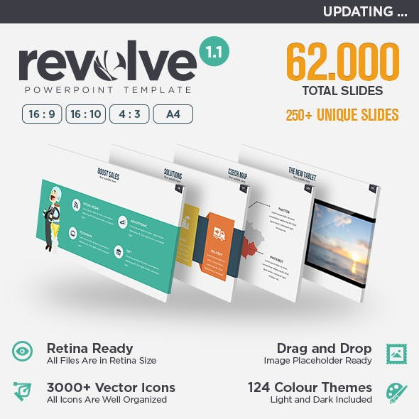 Revolve - Multipurpose Powerpoint Template