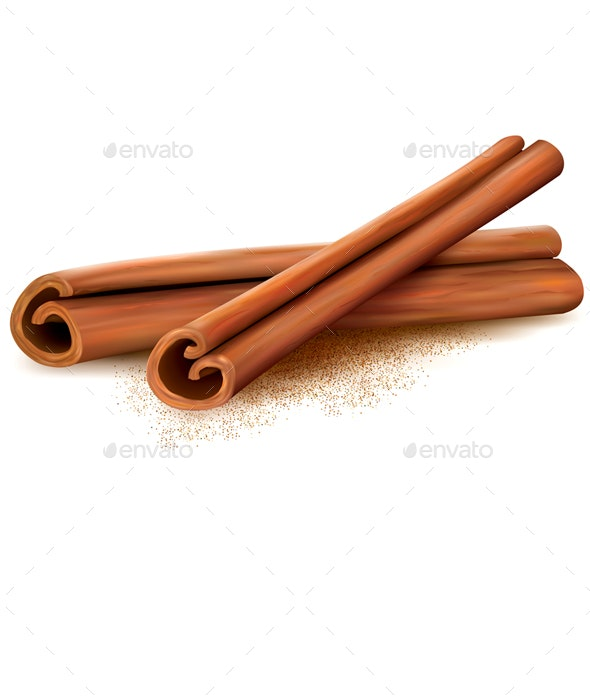 Cinnamon - Food Objects