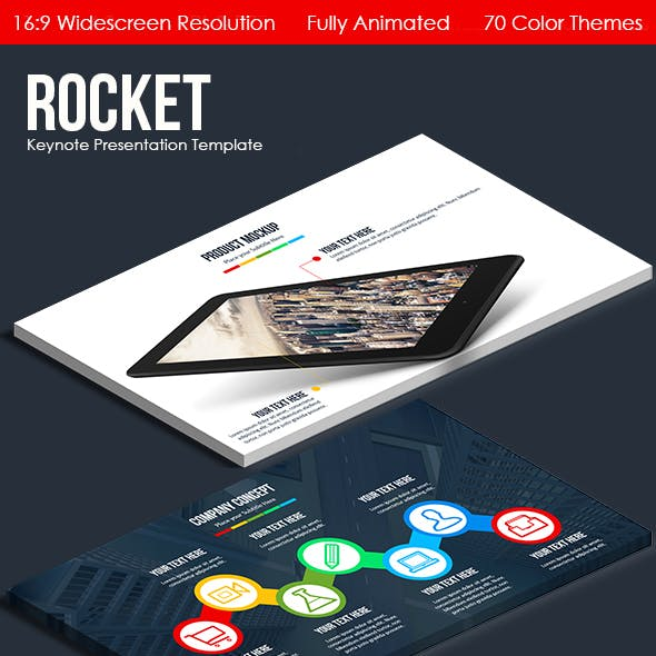 Rocket - Multipurpose Keynote Template