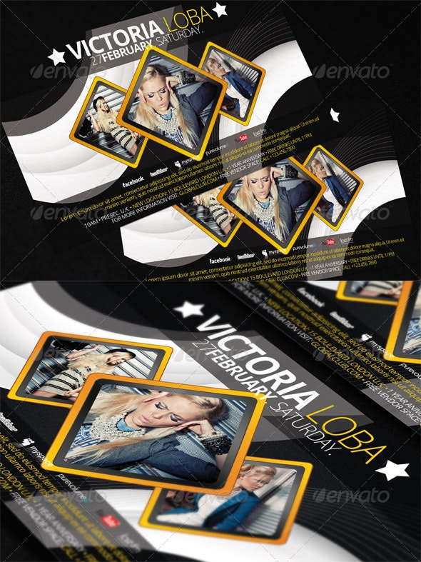 Explosive Flyer Template - Clubs & Parties Events