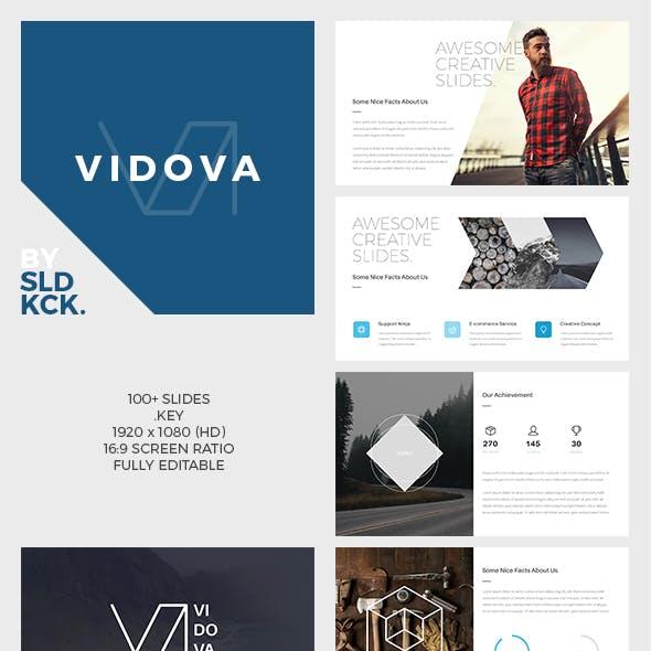 VIDOVA - Modern Keynote Presentation