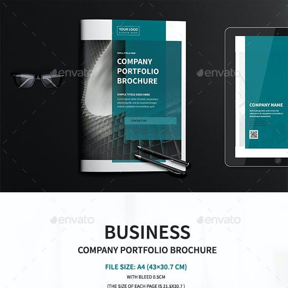 A4 Business Company Portfolio Brochure