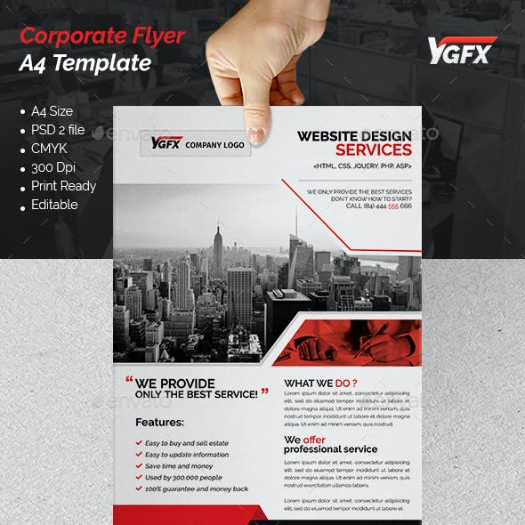 A4 Corporate Flyer 06
