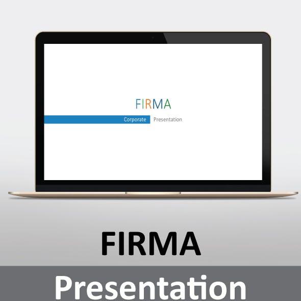Firma Presentation Template