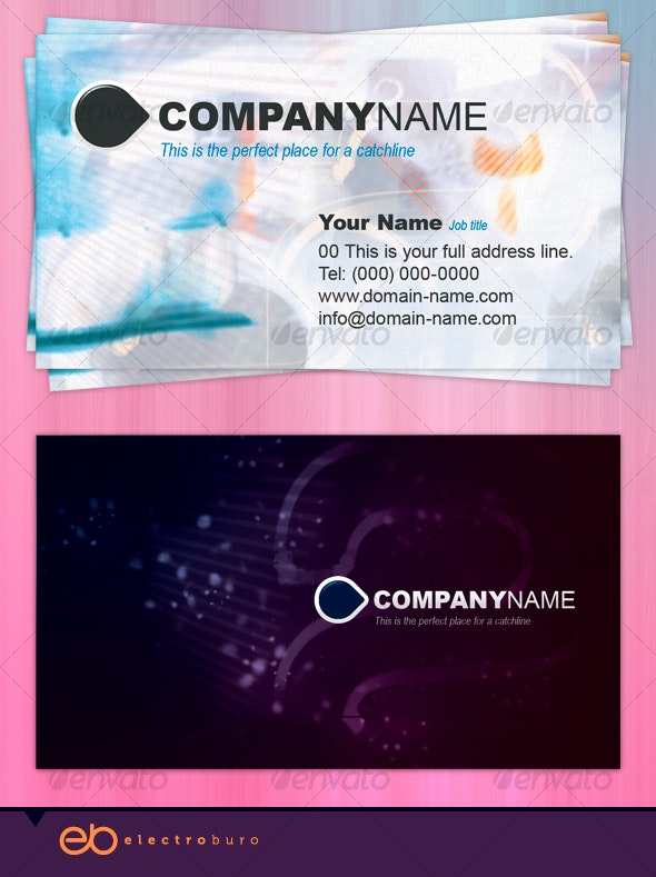 Take Two Business Card - Creative Business Cards