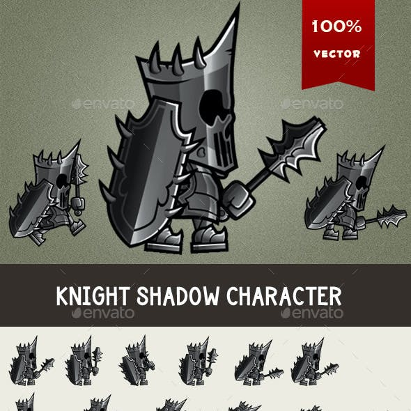 Knight Shadow Character