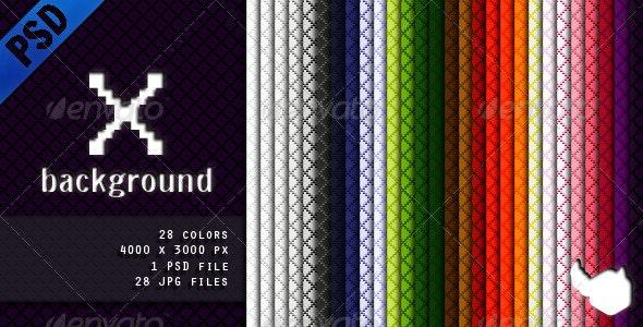 X Background - Patterns Backgrounds