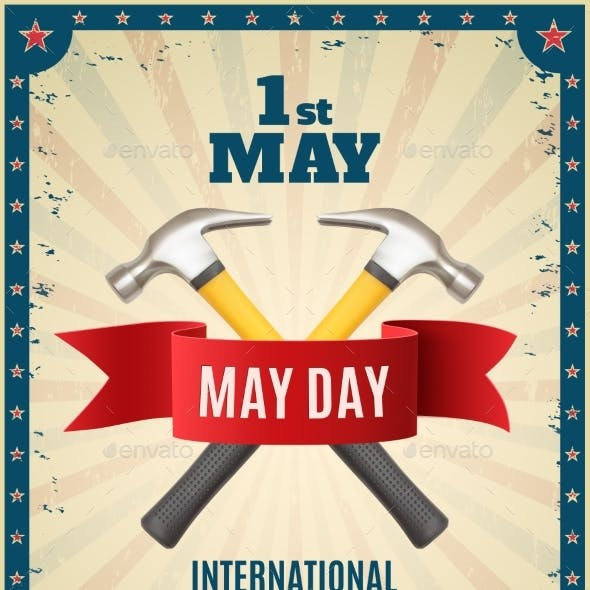 May Day Background