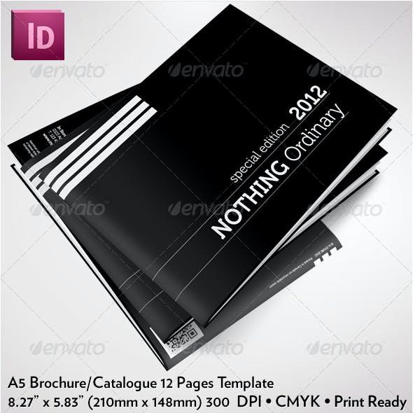 A5 Clean Brochure/Catalogue