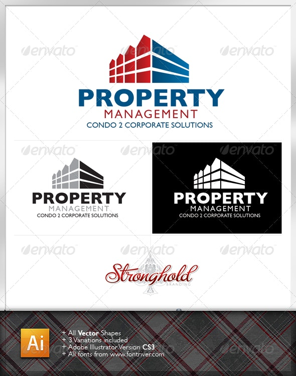 Property Manager Logo - Buildings Logo Templates