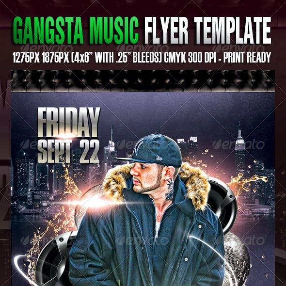 Gangsta Music Template