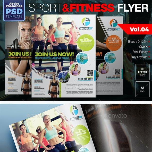 Sport & Fitness Flyer Vol.04