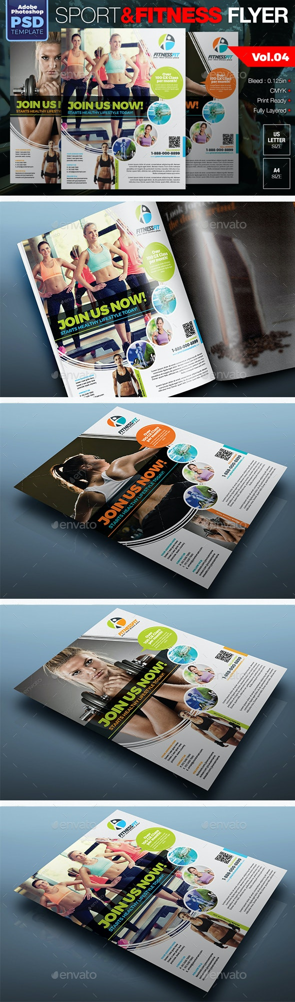 Sport & Fitness Flyer Vol.04 - Sports Events