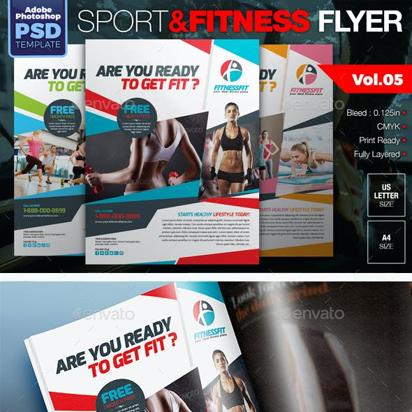 Sport & Fitness Flyer Vol.05