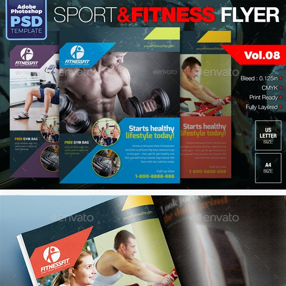 Sport & Fitness Flyer Vol.08