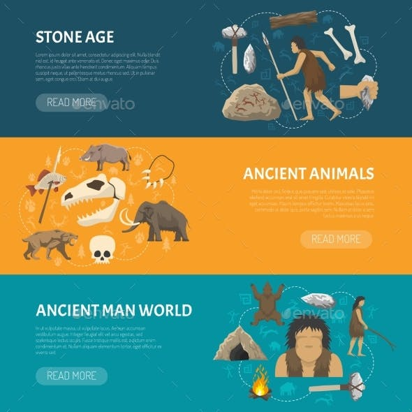 Stone Age Banners