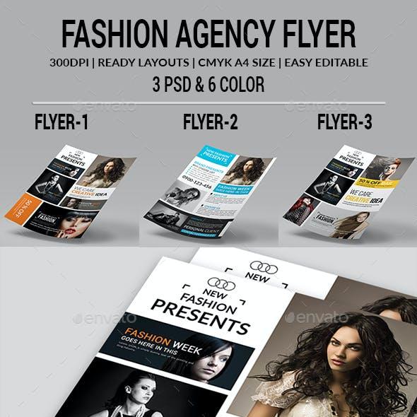 Fashion Agency Flyers Bundle
