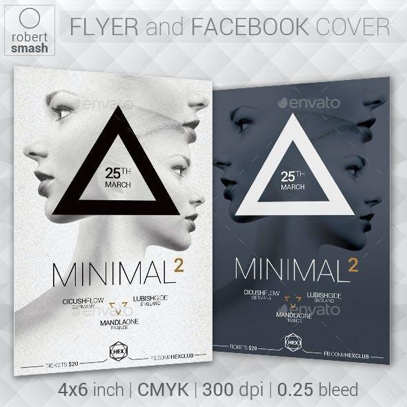 Minimal2 Music Flyer