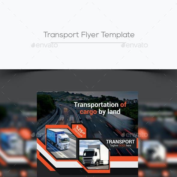 Transport Flyer Template