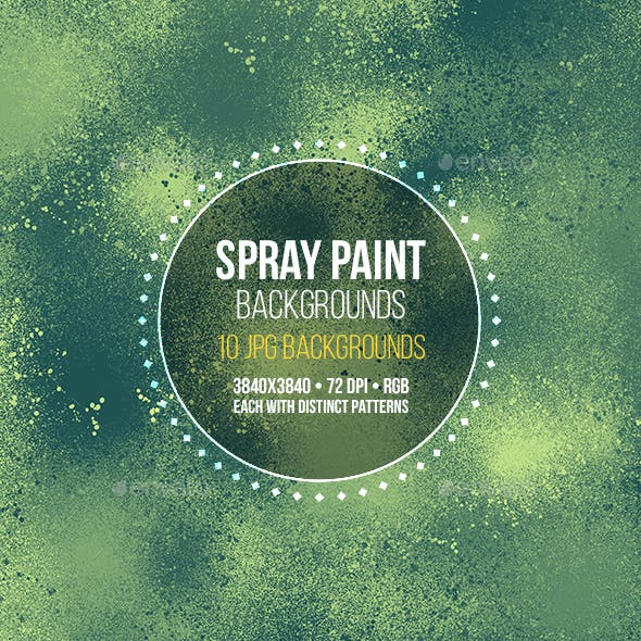 Spray Paint Backgrounds