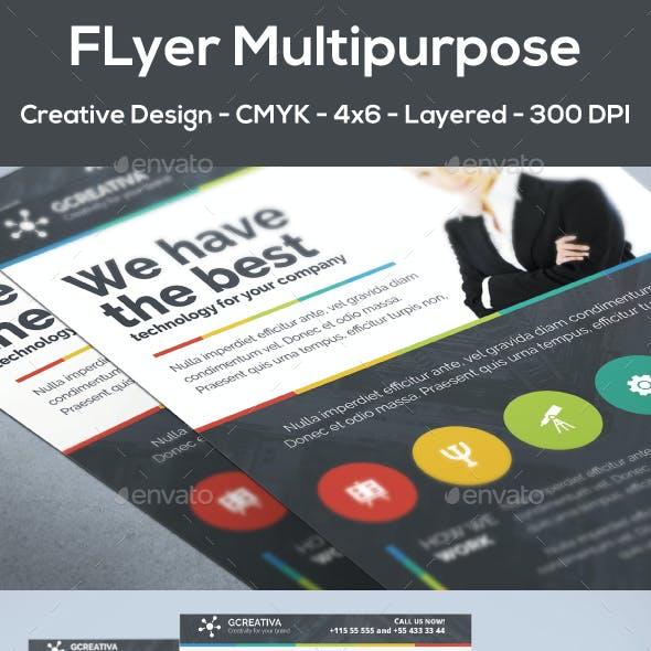Flyer Multipurpose