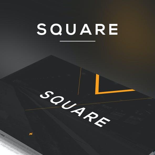 Square Keynote Template