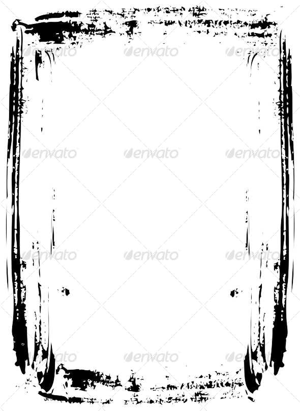 Grunge frame - Backgrounds Decorative