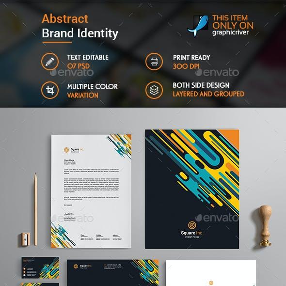 Abstract Brand Identity Design