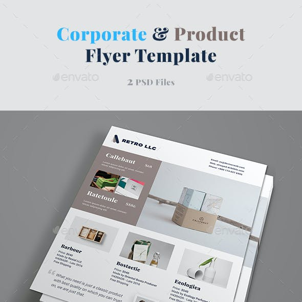 Corporate & Product Flyer Template