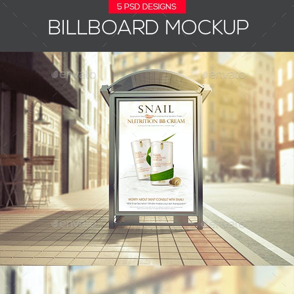 Clean City Advertising Billboard Mock-Ups